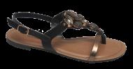 Sandália Rasteirinha Dakota Z3733 Preto