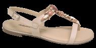 Sandália Dakota Z3984 Rasteirinha Nude