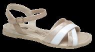 Sandália Comfortflex 1872404 Rasteirinha Nude