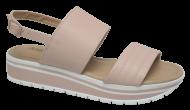 Sandália Numeração Especial Anabela Anaflex 203341 Nude