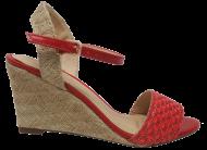 Sandália Marlinês 3932 Espadrille vermelha