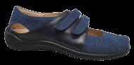 Sapato Opananken Alexxa 74523 Vazado Marinho