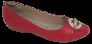 Sapatilha Feminina Comfortflex 1884402 Vermelho