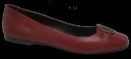 Sapatilha Feminina Numeração Especial Eliandra 7812 Vermelho