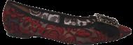 Sapatilha Ferrucci 15119-13 Bico Fino Bordada