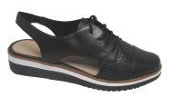 Sapato Flatform Giulia Domna 20537 Couro