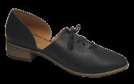 Sapato Gatza 33522 Preto amarrado