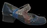 Sapato Feminino Couro Jgean CK0065 Conforto