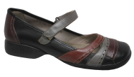 Sapato Feminino Confortável Jgean AI0240 Couro