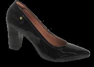 Sapato Feminino Numeração Especial Anaflex 181603A Bico Fino