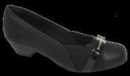 Sapato Feminino Numeração Especial Anaflex 283486 Preto