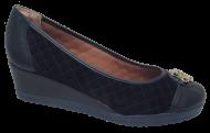 Sapato Anabela Numeração Especial Anaflex 223505