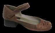 Sapato Feminino Jgean CK0102 Couro Flor
