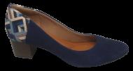Sapato Scarpin Bem Me Quer 6024 Conforto Marinho