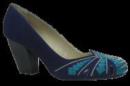 Sapato Ferrucci 23971-16 Bordado