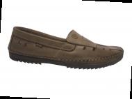 Sapato Sider Freeway Logan-2 Couro Vazado