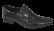 Sapato Masculino Jota Pê 45016 Air Bag Couro Preto