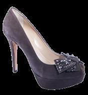 Sapato Peep Toe Ferrucci 28232 Laço