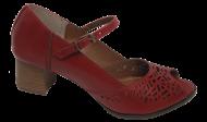 Peep Toe Tamanho Especial Marlinês 5939 Vermelho