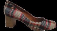 Sapato Scarpin Cristófoli 167173 Xadrez