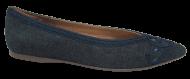 Sapato Feminino Bico Fino Valentina 375133 Jeans