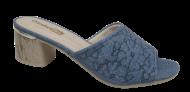 Tamanco Feminino Comfortflex 1852401 Jeans