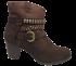 Bota Ankle Boot Dakota B7961 Café