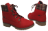 Coturno Dakota B7991 Vermelho 4