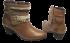 Bota Ankle Boot Via Paula 4918 Tamanho Especial 4