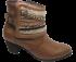 Bota Ankle Boot Via Paula 4918 Tamanho Especial