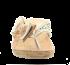 Chinelo Tanara Couro N3605 Marfim/cobre 2