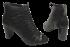 Peep Boot Cristófoli 166382 Couro Preto 4