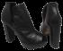 Peep Boot Werner 351080 Meia Pata Preta 4
