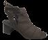 Peep boot Cristófoli 166263 Café