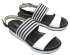 Sandália Feminina Flatform Campesí L6384 Confortável 2