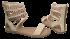Sandália Dakota Z0143 Gladiadora Rasteira 4