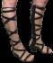 Sandália Tanara N7601 Gladiadora Preta 2