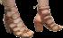 Sandália Tanara N7801  Gladiadora