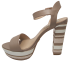 Sandália Plataforma Werner 110056 Listras 2