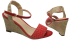 Sandália Marlinês 3932 Espadrille vermelha 4