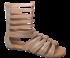Sandália Dudaiá 17315 Gladiadora Tamanho Grande
