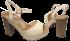 Sandália Dakota Z0102 Plataforma 3