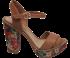 Sandália Plataforma Tanara N7822