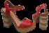 Sandália Plataforma Tanara N7822 4