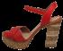 Sandália Plataforma Tanara N7822 2