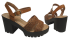 Sandália Dakota Z1521 Plataforma Tratorada 4