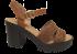 Sandália Dakota Z1521 Plataforma Tratorada