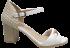 Sandália Salto Bloco Comfortflex 1656405 Branca