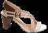 Sandália Cristófoli 161382 Nude/marfim