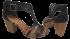 Sandália Dakota Z0023 Salto Bloco 4